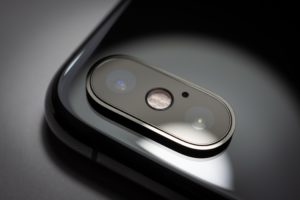 iPhone XS Maxのカメラアップ写真