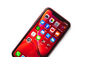 iPhoneXRのディスプレイ