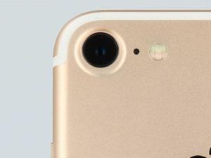 iPhone7のカメラ部分アップ画像