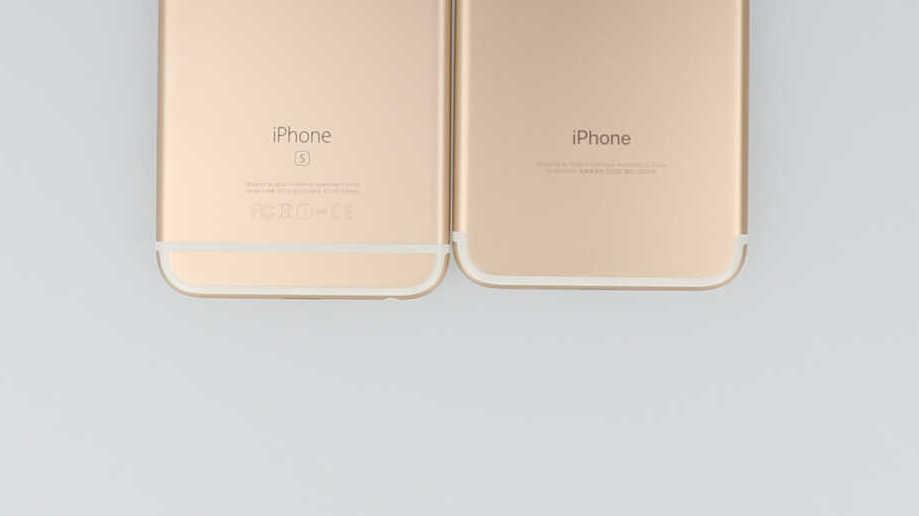 iPhone6sとiPhone7のアンテナライン