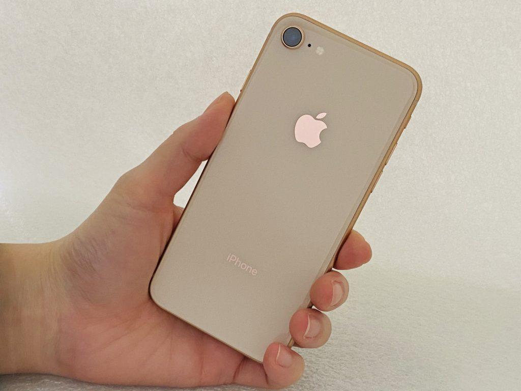 iPhone8(ゴールド)