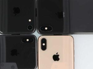 iPhoneXシリーズのカメラレンズ