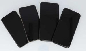 iPhoneXシリーズの前面画像