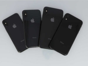 iPhoneXシリーズの背面画像