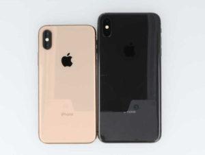 iPhone XSとiPhone XS Maxの背面画像